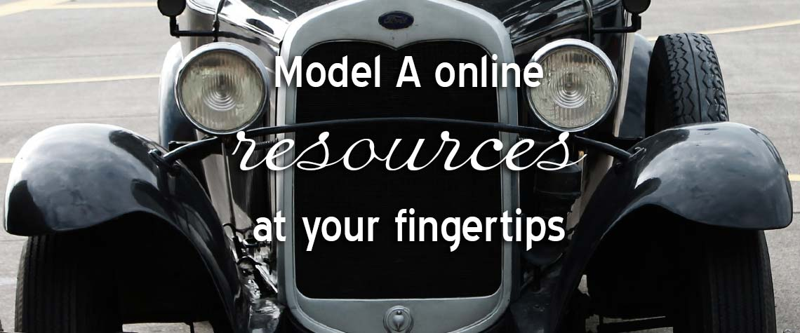 Model A resources